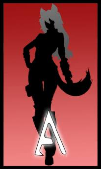 Auburn perrault Silhouette by AgitoNightstar