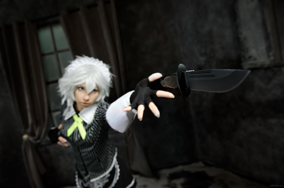 Sakuya Izayoi by lina-no-uta