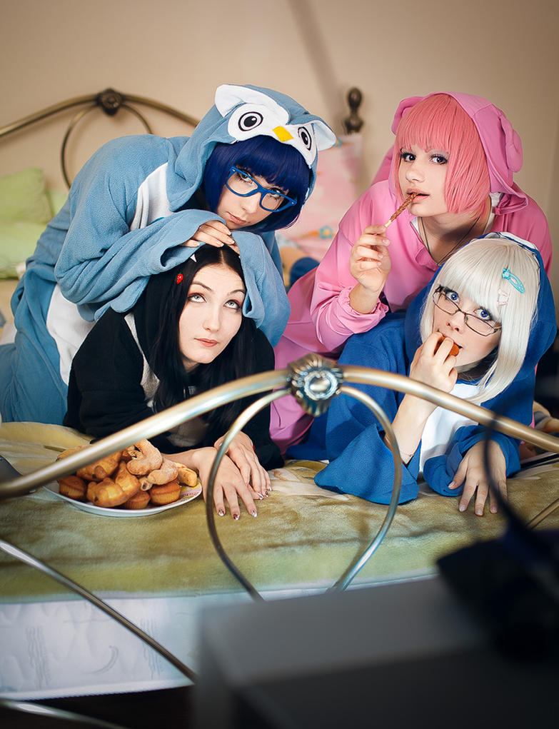 Kigurumi Party by lina-no-uta