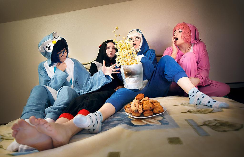 Kigurumi Party by lina-no-uta on DeviantArt