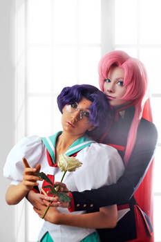 Utena Tenjou and Himemiya Anthy