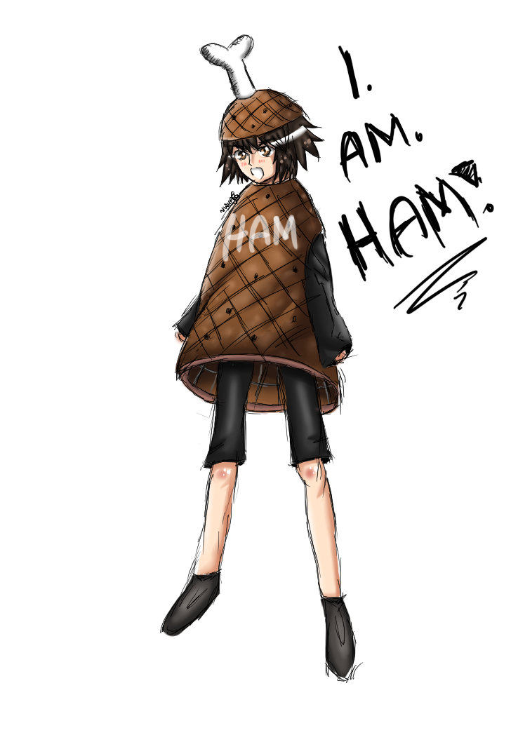 Scout Finch - Ham by wingz-G on DeviantArt