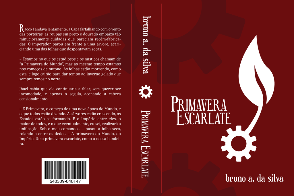 'Primavera Escarlate' Mock Cover by sylar399