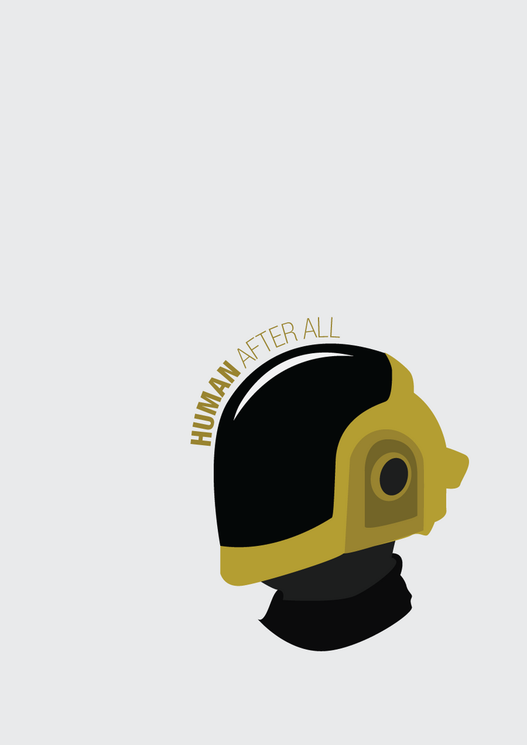 Daft Punk's Human After All by sylar399