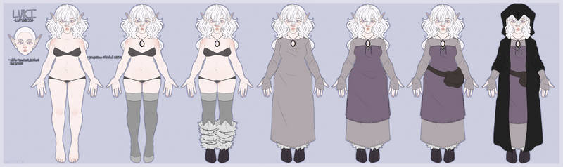 Luki reference sheet / COMMISSIONS OPEN !