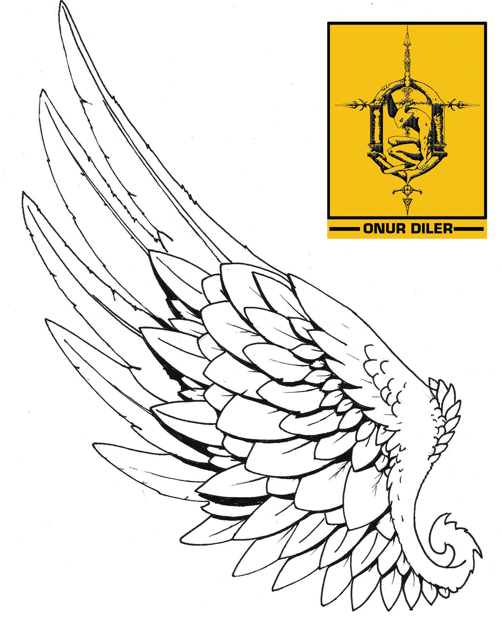 tattoo hermes wing by onurdiler on deviantart. Black Bedroom Furniture Sets. Home Design Ideas