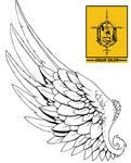 tattoo hermes wing