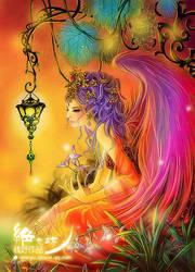 Rainbow Wizard by qianyu