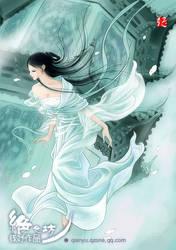 Falling girl by qianyu