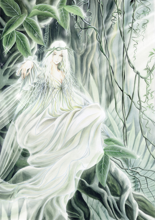 The spirit of the forest by qianyu