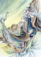 East wind by qianyu