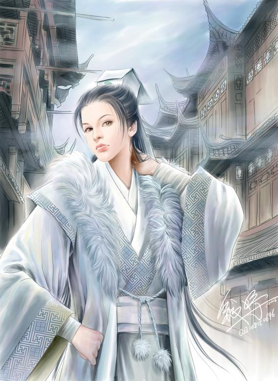 princess yu anime illustration