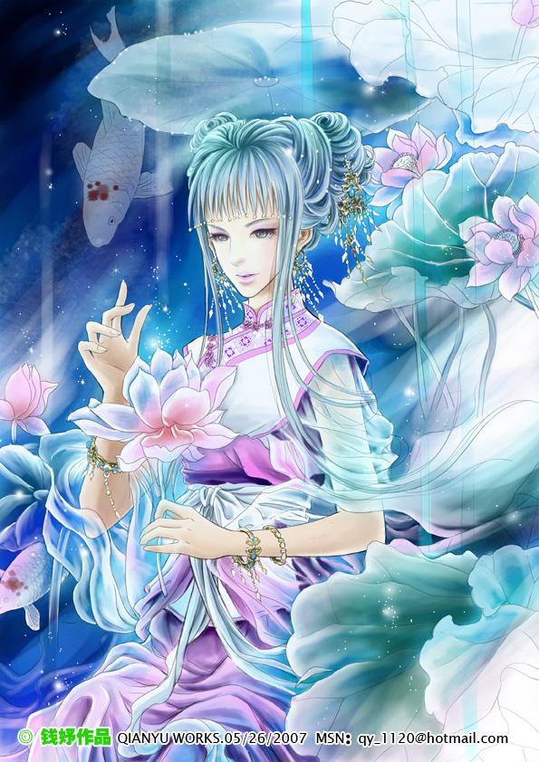 Lotus dream by qianyu