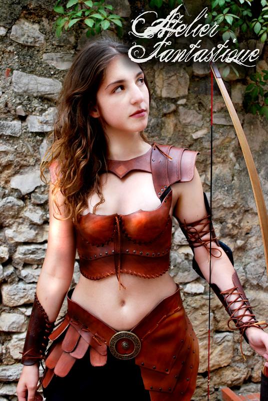 Thalestris armor by AtelierFantastique