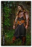 Medieval fantasy leather Carmag armor