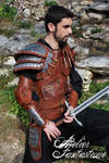Dragon hunter Dovahkiin leather armor