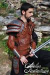 Dragon hunter Dovahkiin leather armor