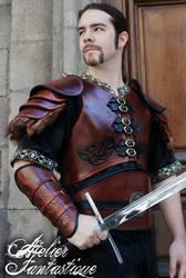 Shaktar leather armor by AtelierFantastique