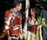 Medieval fantasy wedding