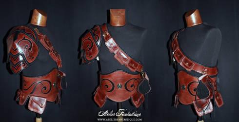 Simple leather armor set