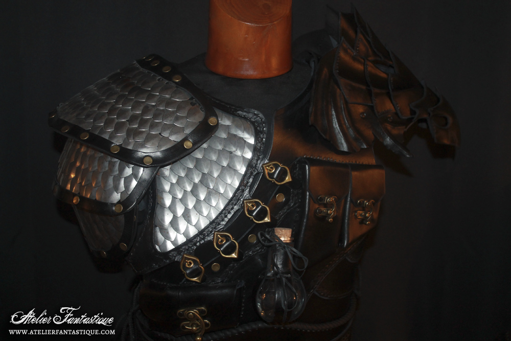 Dovahkiin armor -5 by AtelierFantastique