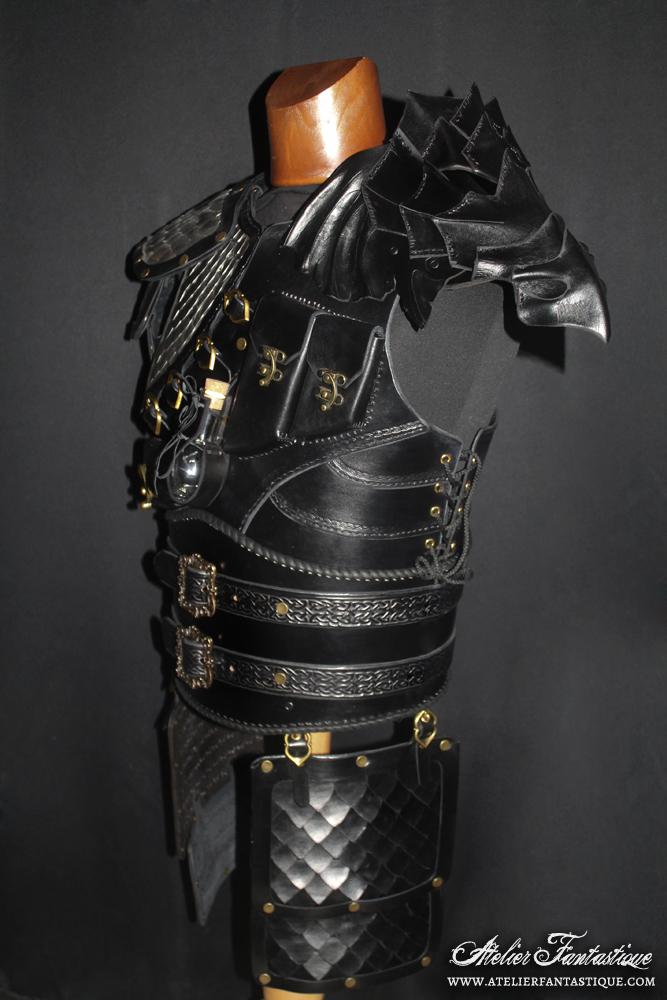 Dovahkiin armor -6 by AtelierFantastique
