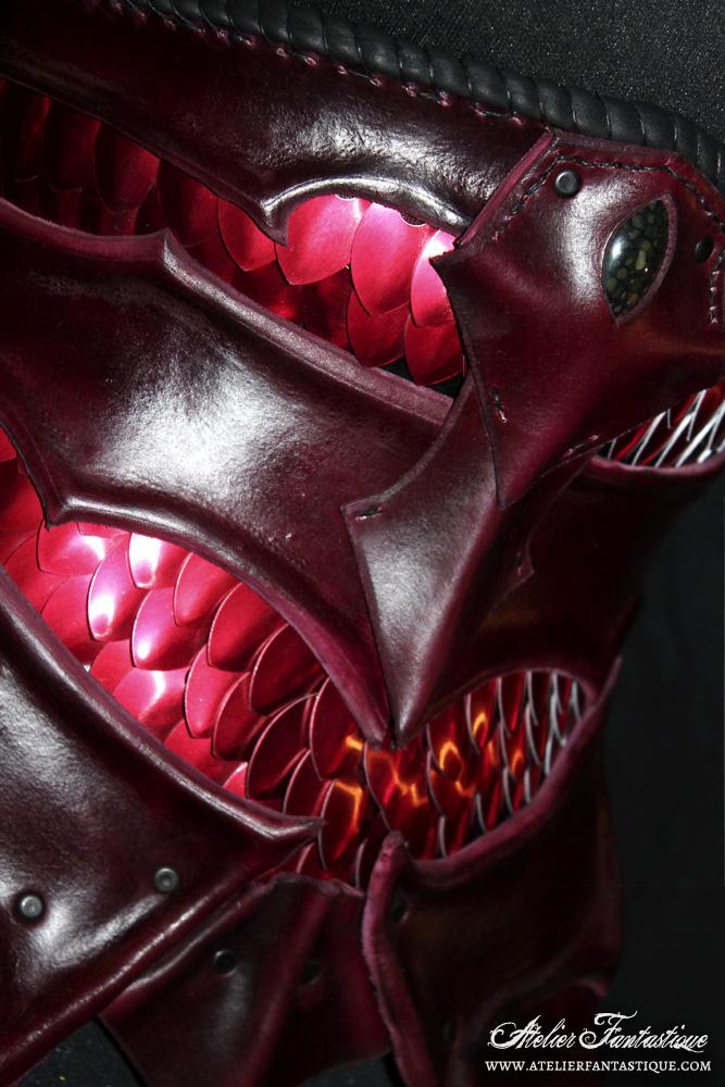 Dragon underbust by AtelierFantastique