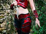 Tribal feminine set - details