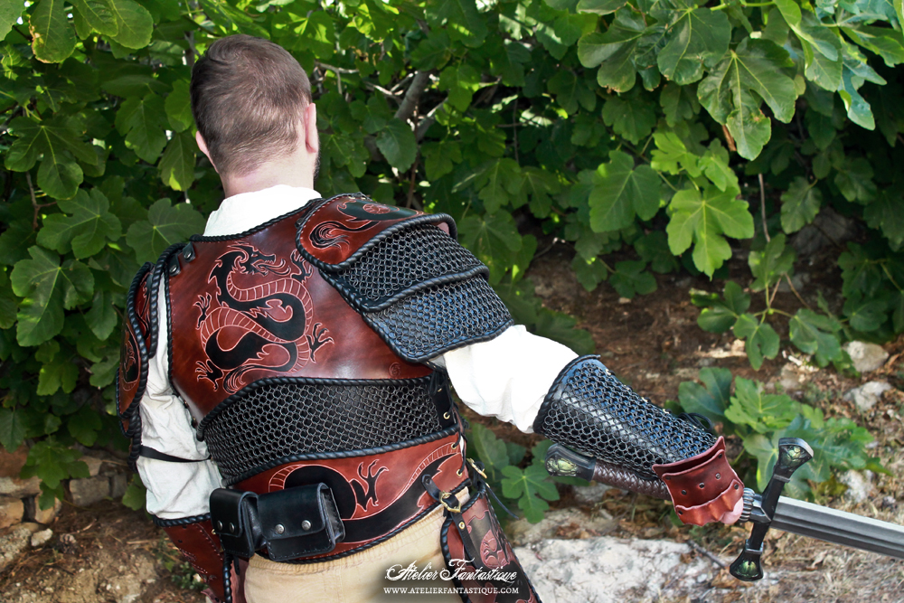Chainmail Custom Dragon Armor By Atelierfantastique On Deviantart Decrease the risk of serious injury in the event of an accident while you're riding your bike by strapping on this motorcycle airbag vest before hitting the road. deviantart