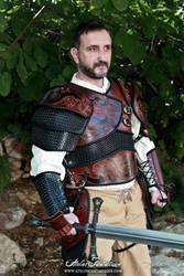 Chainmail custom dragon armor