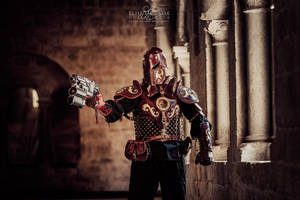 Steampunk golem armor -2