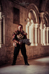 Steampunk golem armor -3