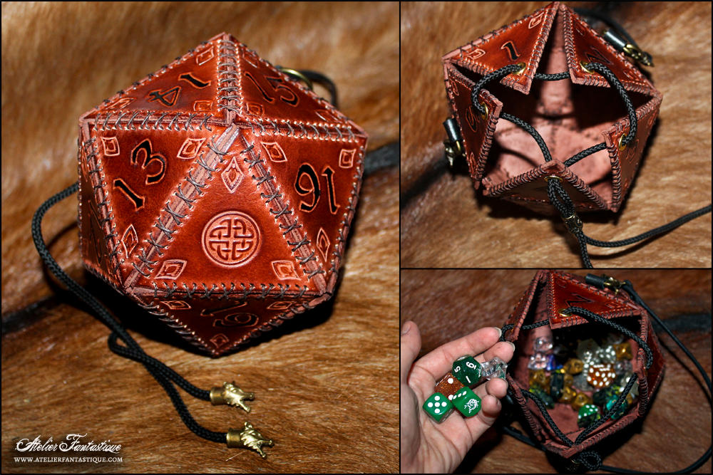 D20 leather bag - 1