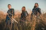 Samurai Trio by AtelierFantastique