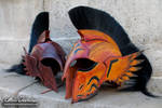 Flayern helmet duo