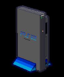 Playstation2-retro pixel