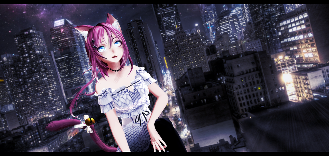 MMD Tomura Chan by Mary-O-o