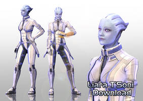 [MMD] Liara T'Soni Download by Mary-O-o