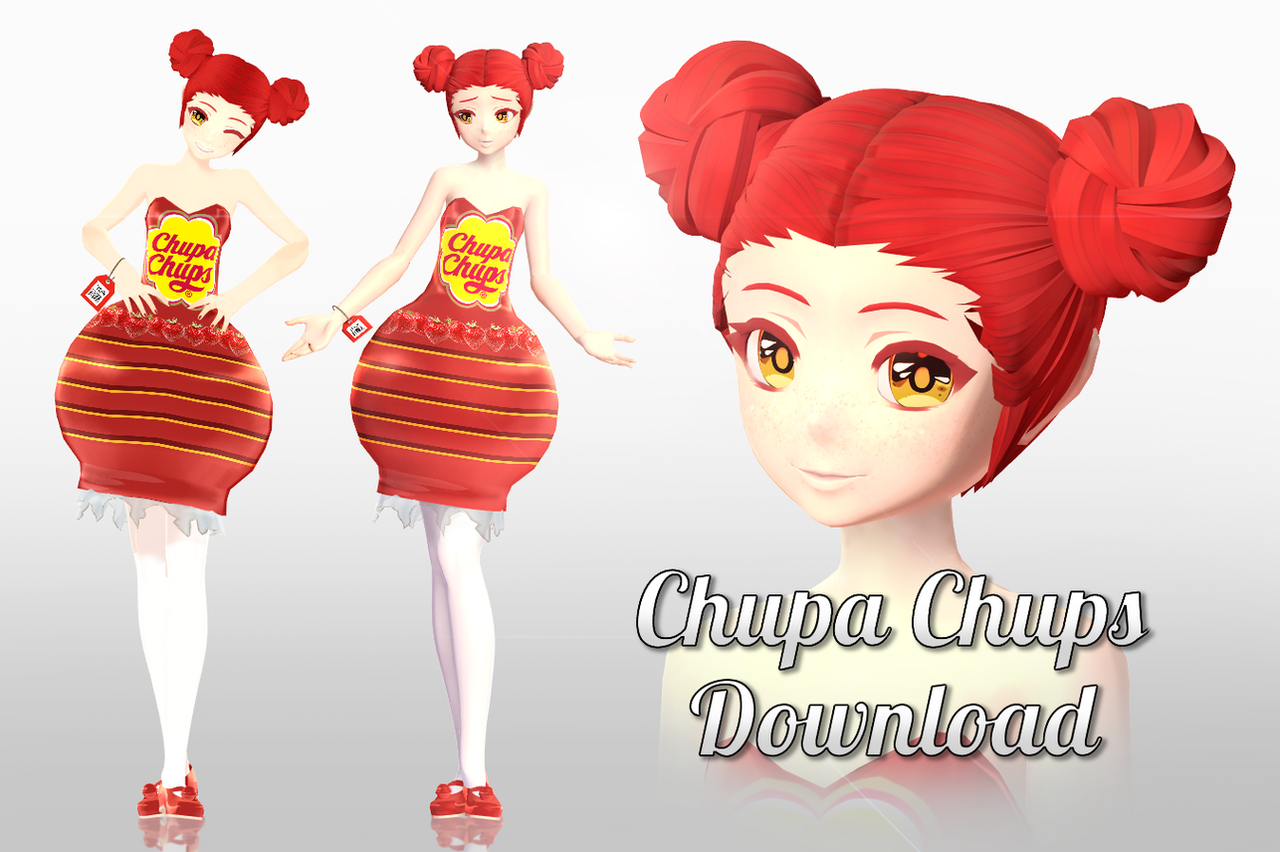 MMD Lollipops Download by Mary-O-o
