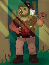 [COM] Bear in the Woods by malpractition