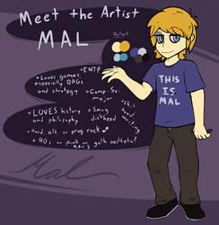 Meet the Artist - Mal!