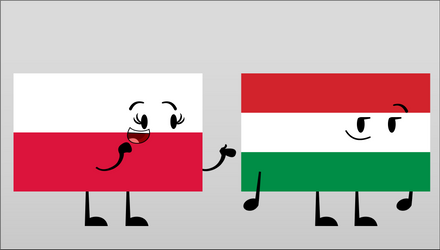 Poland and Hungary