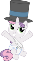 Sweetie Belle - Baby New Year