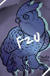 F2U BASE: Great Horned Owl by Charlie-MoM