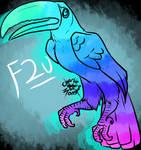 F2U BASE: Toucan by Charlie-MoM