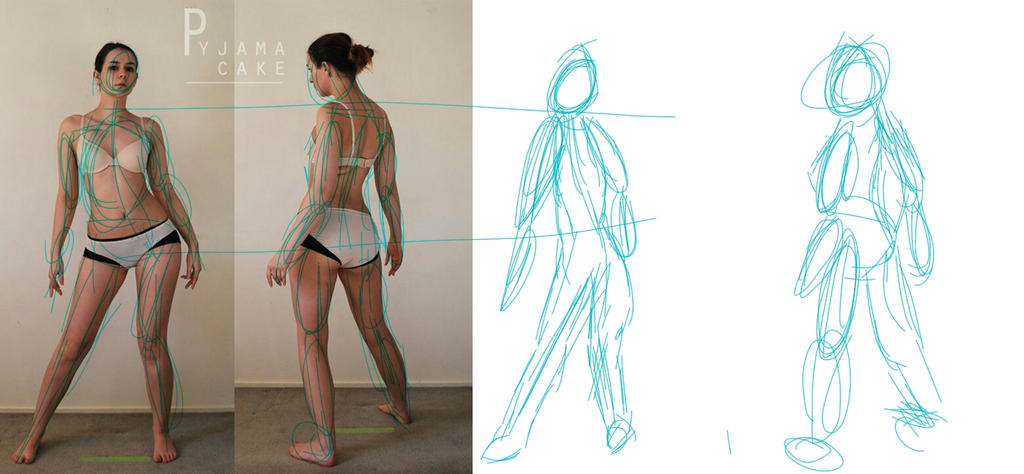 Character Design: Gesture Drawing by L0N3Y