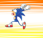 dumb running sonic by L-word