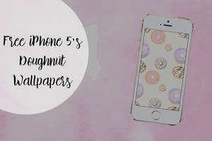 Free iPhone 5s Doughnut Wallpapers by toxiclolley88