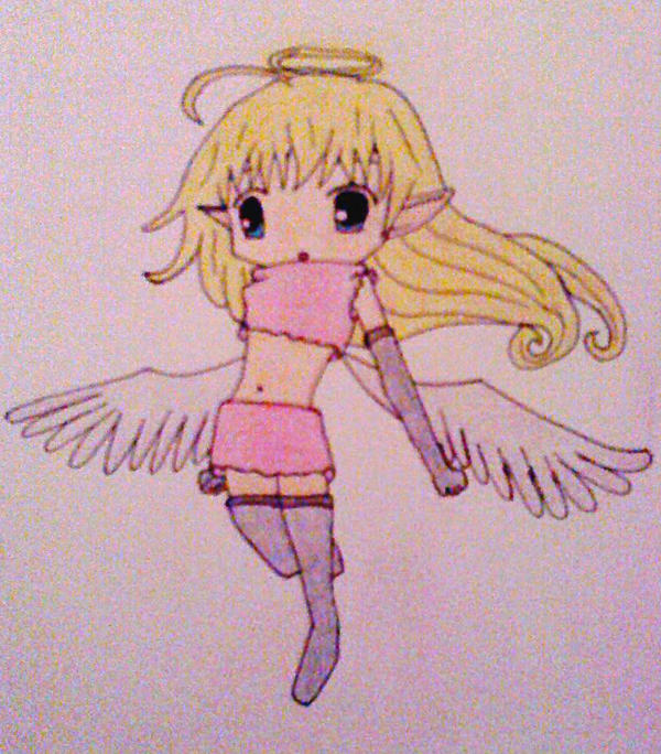 Little angel  by Sharon-the-fairy
