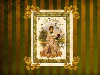 St.  Patrick's Day Wallpaper by JinxMim
